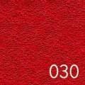 Napínací froté prostěradlo červené