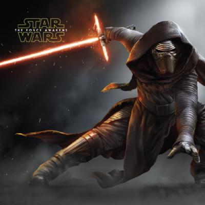Dětský polštářek s motivem z filmu Star Wars - Síla se probouzí Jerry Fabrics