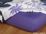 Jersey prostěradlo purpur C