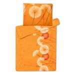Povlečení z mikroflanelu Pampeliška oranžová