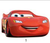 Tvarovaný plněný polštářek Cars