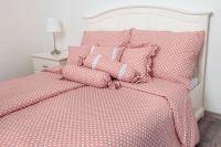 Bavlněné povlečení Puntík růžový
