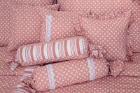 Povlak prošívaný Puntík růžový
