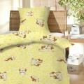 Povlečení bavlna do postýlky - Štěně žluté