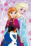 Dětská fleecová deka - Frozen magic