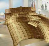 Povlečení bavlna Čokoláda hnědá