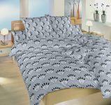 Povlečení bavlna Gabru šedý