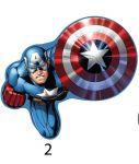 Dětský tvarovaný polštářek s motivem Avengers Jerry Fabrics