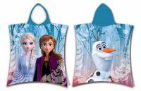 Plážová osuška pončo Frozen 2