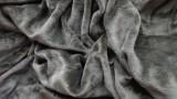 Mikroflanelové prostěradlo tmavě hnědé 180x200