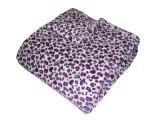 Super soft deka Safari Gepard fialový